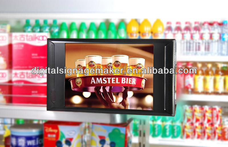 "7"" 9"" 10"" inch IR motion functional 480P lcd digital signage/advertising player/TV/monitor/machine"