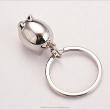 Promotional Giveaways Metal Key Chain Ring Pig Animal Key Chain