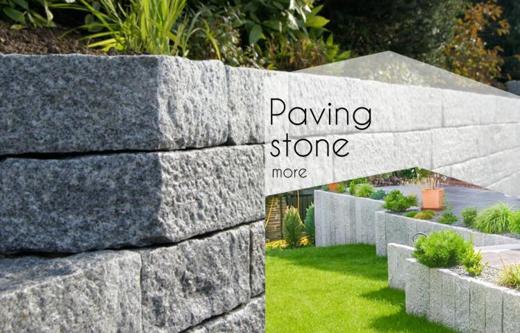 China cheap nature stone landscaping stone granite holland paving stone