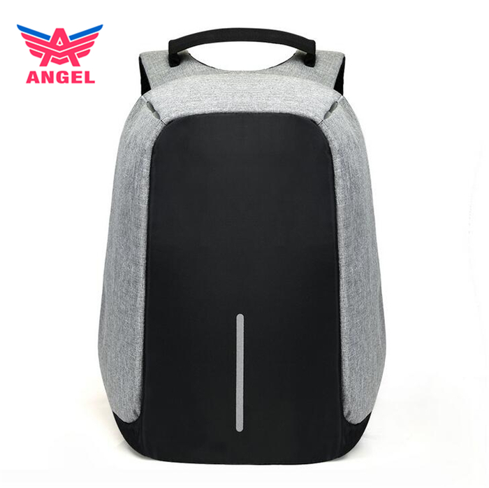 2017 New model strong best waterproof anti theft laptop backpack with USB line for women and men