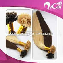 100% human hair wholesale italian remy hair extensions real hair