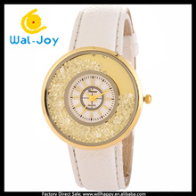 WJ-4917 newest hot sale big face Geneva brand casual vogue cheap high quality women watch
