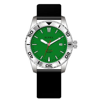 automatic watch diver, green dial watch, luxury diver watch