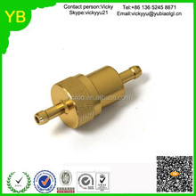 Customized OEM brass fuel filter from Dongguan factory
