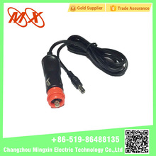 12V Red Head Car Charger Cigarette Lighter Plug With Cable