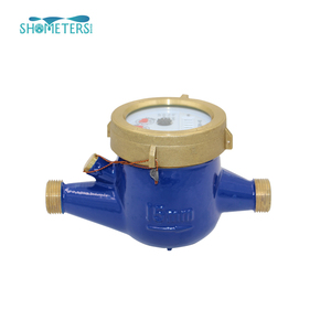 DN15mm water meter multi-jet Class B brass 1/2 inch