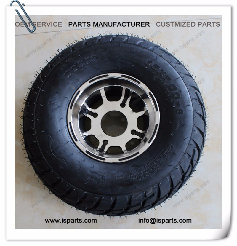 19*7-8 tire and wheel for buggy go kart