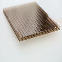 China manufacturer double wall clear sheet plastic