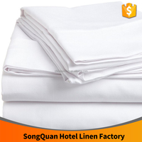 cotton fabric hotel bedding sets 300TC 5 stars hotel bed sheet factory price