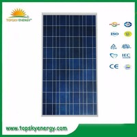 The solar panel 110W 18V poly solar module with wholesale price
