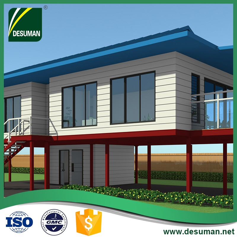 cheap price prefab house sea side modern style for PNG market