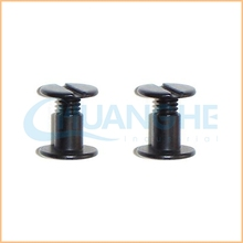 Competitive price Various size black anodized aluminum screw suppliers