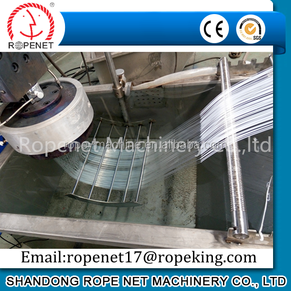 New designed 90mm single screw extruders pp thread extruding machine