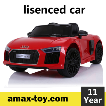 2292198-License Audi R8 car electric toys kids ride on car