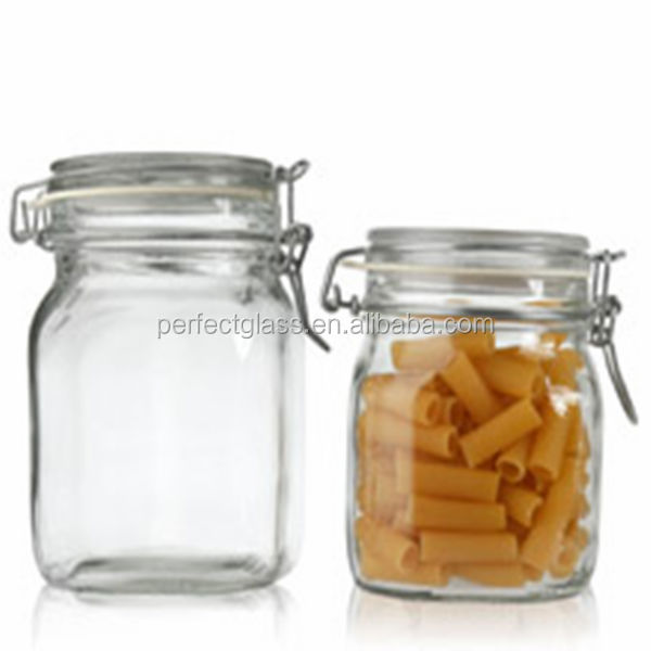 250ml swing top glass storage jar