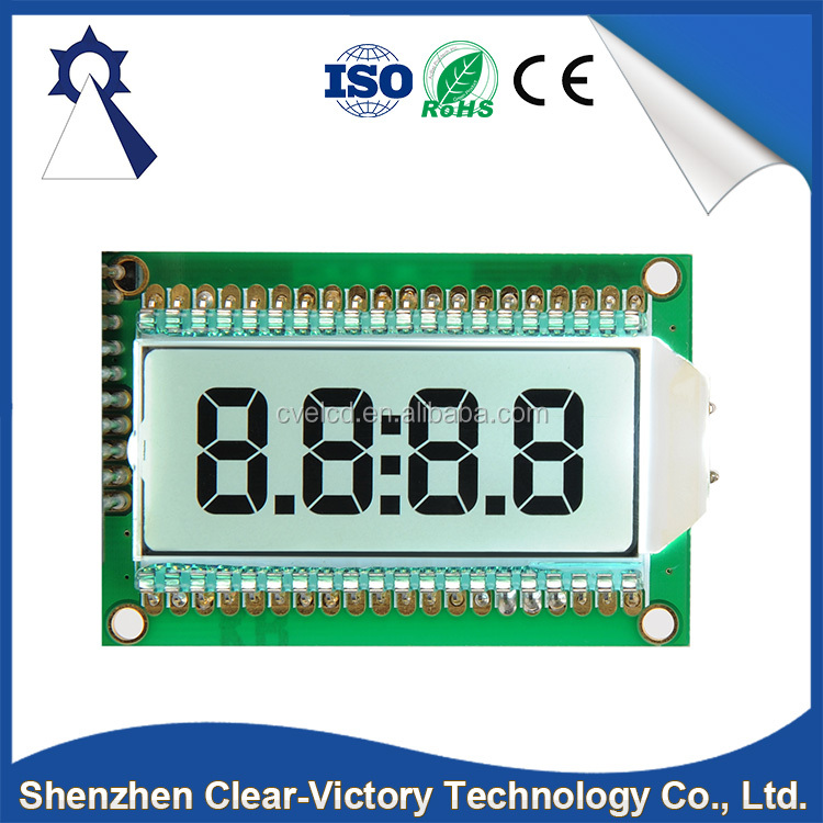 China import direct Liyuan liquid crystal display 7 segment lcd module