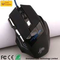 Best Ergonomic GM-06 USB Optical Wired Gaming Mouse for LOL