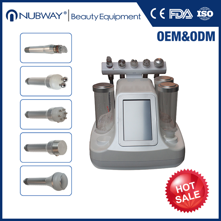 Water dermabrasion/Ultrasound/Bio microcurrent facial deep cleaning machine