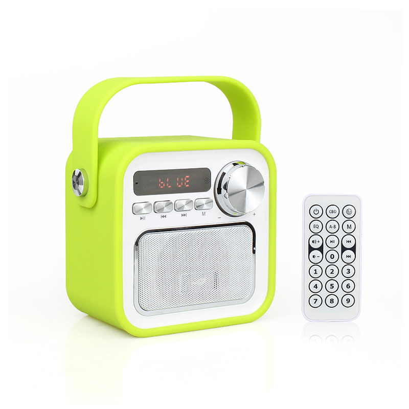 new design fm radio function home product portable speaker