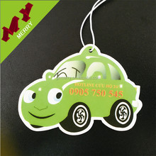 Fashion design custom paper car air freshener