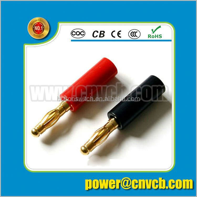 4mm banana plug for test cable/Silver Plated 4mm Banana Plug