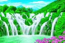 Beautiful natural scenery wall picture for wall hanging