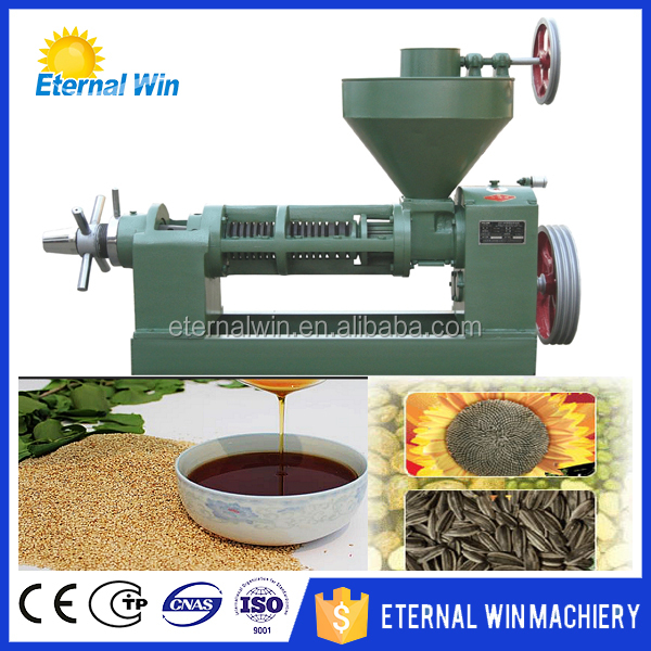 Hot Sale Oil Expeller Sunflower/Cotton/Vegetable/ Coconut/Palm/Peanut Oil expeller machine