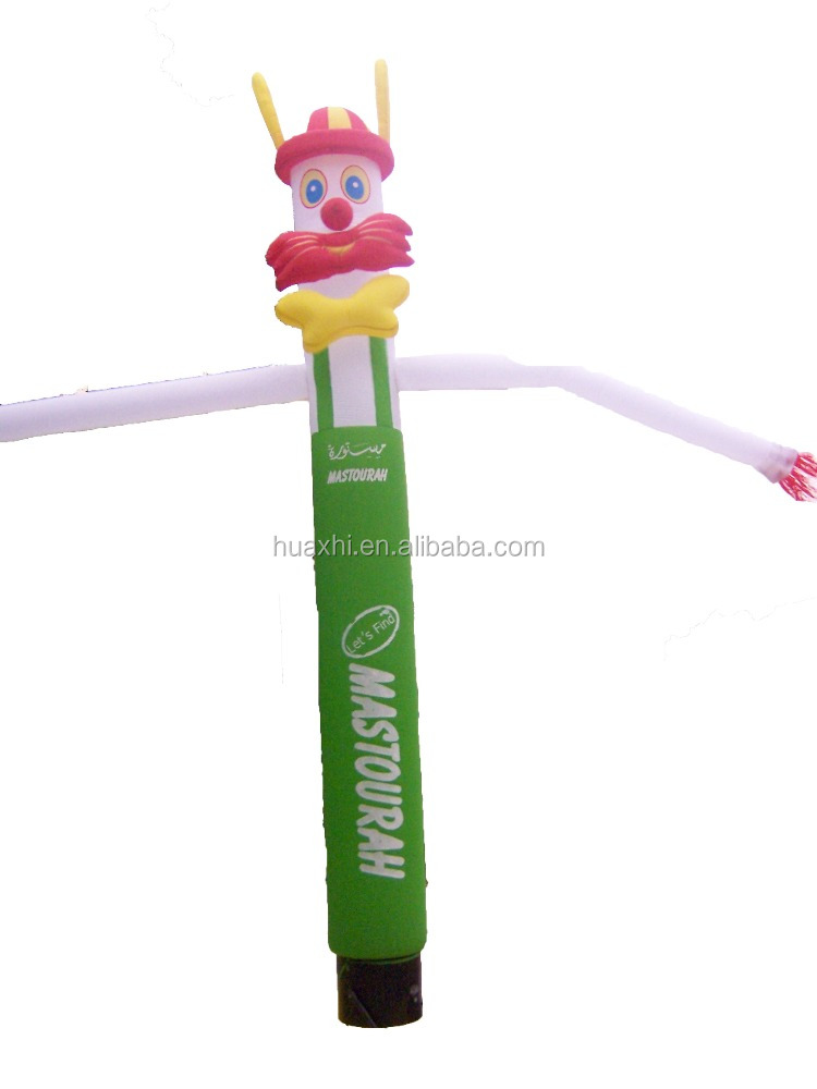 Newest design inflatable Clown desktop air dancer for advertising