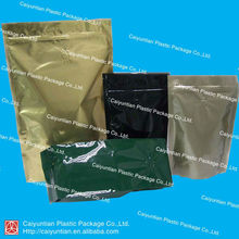 Pure color coffee bag/Aluminum foil bag/stand up pouch