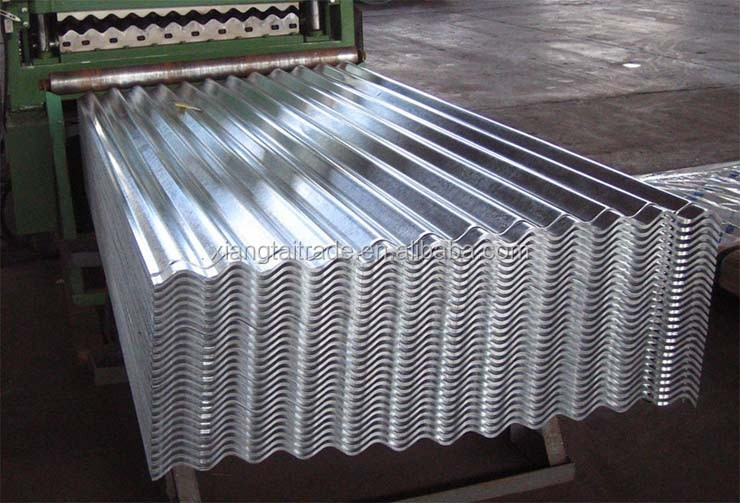 pre-painted/galvanized Corrugated steel Sheet Metal Roofing