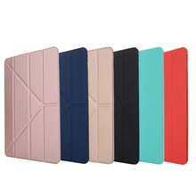 <strong>For</strong> <strong>iPad</strong> pro 11 inch 2018 new PU Leather and Soft Silicone Back multiple fold stand smart <strong>Case</strong> <strong>for</strong> <strong>iPad</strong> pro 11 2018 cover