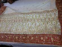 Designer Saree with Pallu work