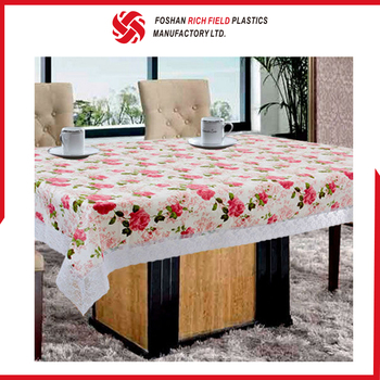 High Quality Wholesale Eco-Friendly PVCPlastic Tablecloth