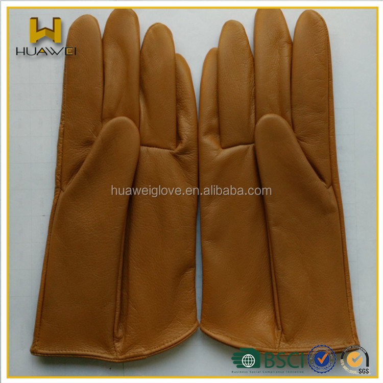 custom made !!! solid cow leather gloves men cow leather gloves