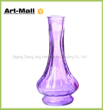 Murano martin art small crystal single glass flower vase wholesale cheap
