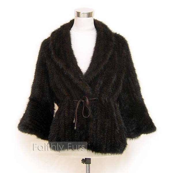 Mink Fur Knitted coat