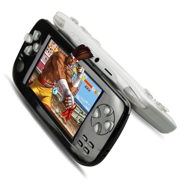 128 bit 4GB Handheld games player support MP5/film/camera/recorder/ calculator PAP-KIIIS video games console