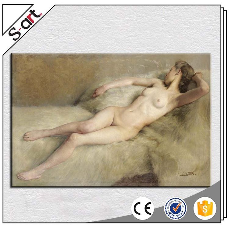 Professional best price beautiful women nude back oil painting