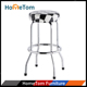 Stackable Cheap Round Metal Bar Stool with PU Seat