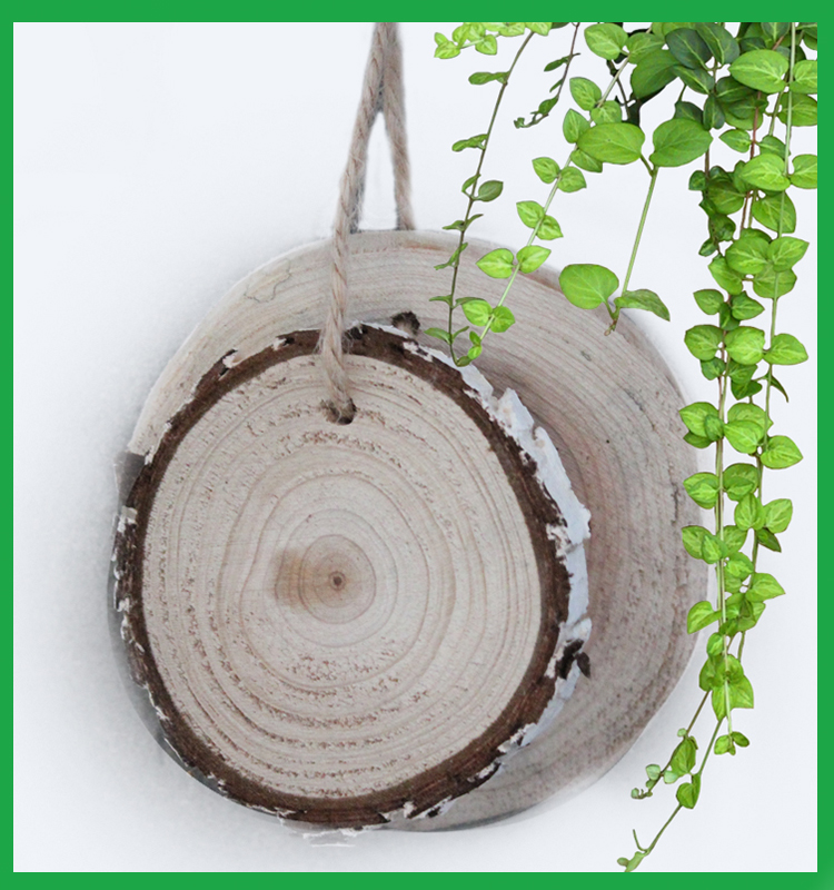 new products 2017 innovative product wooden slice, round wooden pieces,carved wooden ornaments