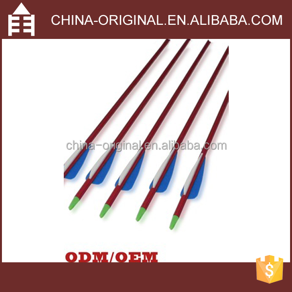 32 Inches Hunting Aluminum Archery Arrows for 50-70lbs Compound Bow