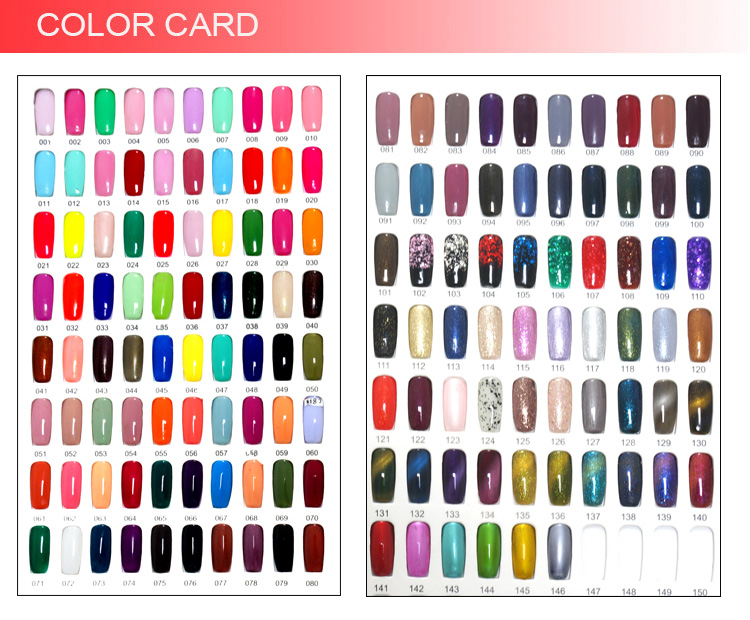 Cheap Wholesale Custom Nail Polish