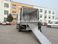 Plastic famous wing opening box van with CE certificate
