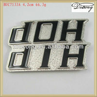BUC7133 hip hop metal belt buckle for men