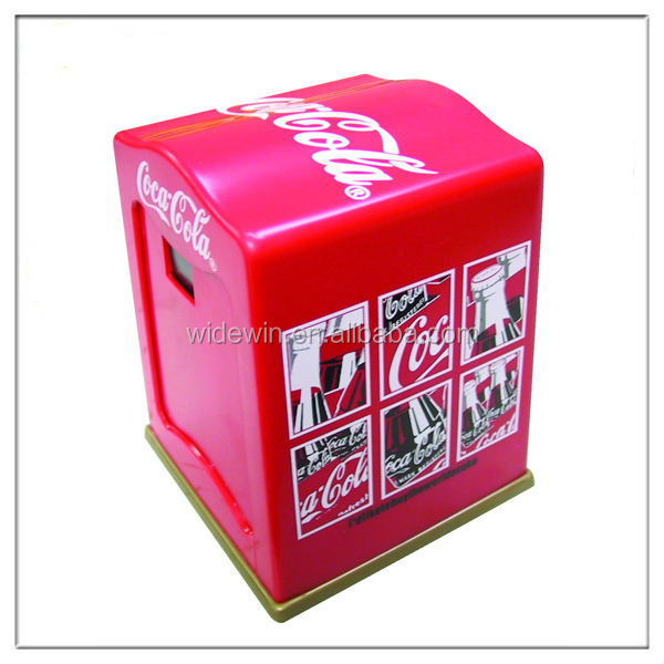 Plastic napkin dispenser servilletero/tissue box