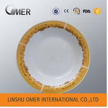 china cheap sanitary ware soup flat white porcelain plate