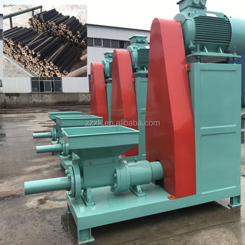 High quality Charcoal Rods Making Machine for BBQ