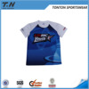 Custom high quality Personalized sublimation printing Fitted T-shirt