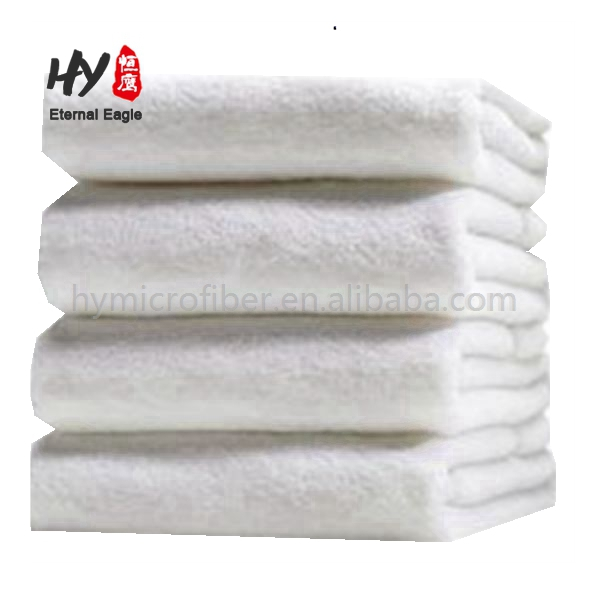 Plastic widely used hotel towel
