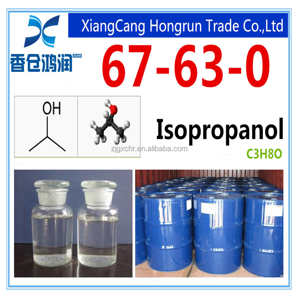 99.5% min Isopropyl alcohol for painting/coating industry